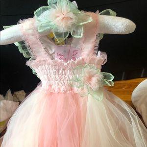 Fairy princess photoshoot dress.